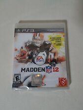 Madden NFL 12 (Sony PlayStation 3, 2011) PS3 new
