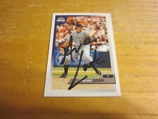 Aaron Cook Autographed Signed 2005 Topps Total #291 Card MLB Colorado Rockies
