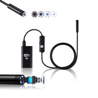 Indigi NEW HD Waterproof Inspection Camera for Pipe WireCam for Android IOS