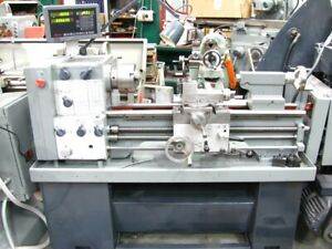 Harrison M300 lathe short bed with DRO system