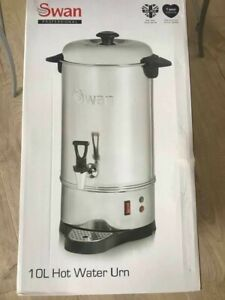 Swan 10 Litre 40 cup Commercial Stainless Steel Catering Urn Water Boiler new