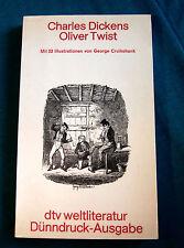 Charles Dickens: Oliver Twist. Taschenbuch. DTV, 1982. Dünndruck-Ausgabe Roman