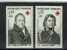 FRANCE 1964 TIMBRE N° 1433 à 1434 SERIE CROIX ROUGE ** LUXE