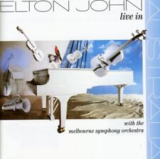 ELTON JOHN LIVE IN AUSTRALIA With the Melbourne Symphony Orch. REMASTERED CD NEW