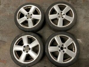 AUDI A3 ALLOY WHEEL SET 18' WITH 225/40/R18 TYRES A3 8P S-LINE RONAL