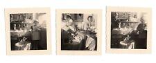 PHOTO Classe de Maternelle 1950 École Écolier Jeu Jouet Poupée Lit Landau Doll