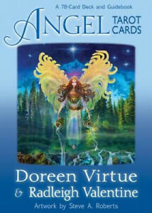 Angel Tarot Cards: A 78-Card Deck and Guidebook by Valentine, Radleigh