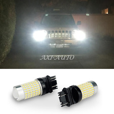 2800LM High Power 144 SMD 3157 3156 White Back Up Reverse Tail LED Light Bulb US
