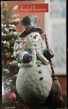 New Frosted Decorative Snowman 867758