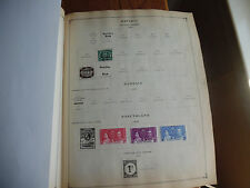 2 Scott 1936 Album Pages of Stamps Bavaria 1920 Etc Rare icstamps Stamps1000-37