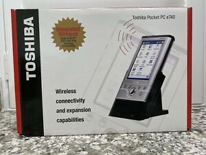 Toshiba Pocket PC e740 Wireless LAN- New, Open Box PA3170U-3P05