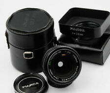 Fujica EBC FUJINON-SW 1:3.5 28mm Lens w/Filter, Hood and Case M42