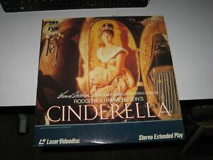 CINDERELLA Laserdisc RODGERS & HAMMERSTEIN 1965 LD Lesley Ann Warren