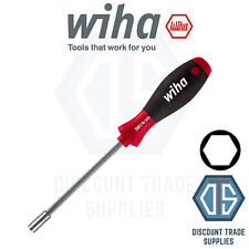 "Wiha SoftFinish Screwdriver Bit holder with Handle, Magnetic,  ¼"" x 300mm 01476"