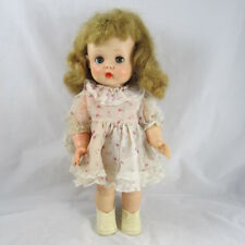 "Horsman 14"" Ruthie Doll Vinyl Toddler Original Dress Panties Vintage 1957-1958"