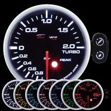 Depo Racing 52mm PSI Electric Turbo Boost 7 Color Peak Warning series PK5201B