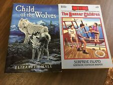 Child of the Wolves and The Boxcar Children Surprise Island