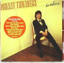 SO ALONE JOHNNY THUNDERS Original Audio Music CD Hits Tracks Brand New Sealed