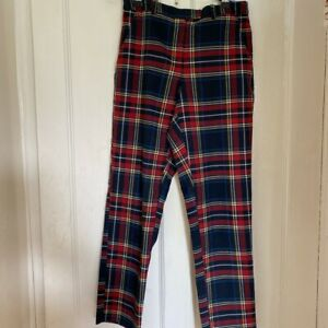 Topshop Tartan Trousers