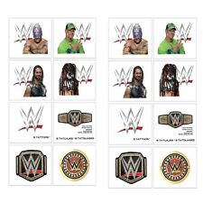 WWE Champions Temporary Tattoos ~ Birthday Party Favors Supplies SMASH 2 Sheets