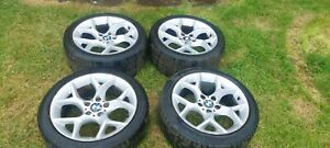BMW X1 E60 E61 STYLE 322 ALLOY WHEELS AND TYRES STAGGERED  6789146