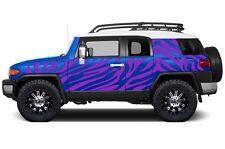 Custom Vinyl Decal Safari Wrap Kit for Toyota FJ Cruiser Parts 2007-2014 Purple