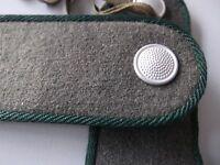 DDR NVA Schulterklappen ab 1956 Soldat dunkelgrün rückwärtiger Dienst Ausgang