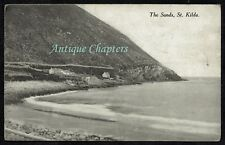 c.1910 The Sands St Kilda Outer Hebrides Scotland Ferguson Postcard C242
