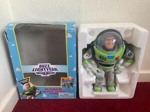 Toy Story Buzz Lightyear Thinkway Talking Action Figure Early Model Working