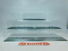 au997-2 #5X HERPA H0 vitrine 25 CM POUR SEMI-REMORQUE/Véhicule ROUTIER/