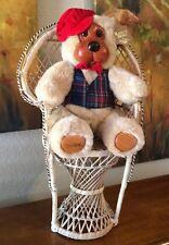 ~ Vintage Applause ~Wooden Face Papa Bear ~ By Robert Raikes!