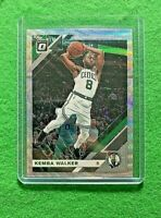 KEMBA WALKER PRIZM SILVER WAVE CARD CELTICS 2019-20 DONRUSS OPTIC BASKETBALL