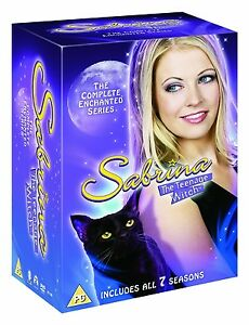 SABRINA THE TEENAGE WITCH COMPLETE SERIES 1,2,3,4,5,6,7 DVD BOXSET 24 DISCS