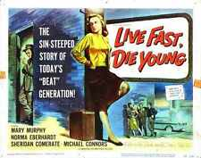 Live Fast Die Young Poster 02 A4 10x8 Photo Print