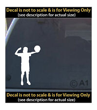 volleyball spike 6 inch decal 4 car truck home laptop quality made in usa SPT95