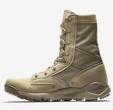 Nike British Khaki Leather Special Field Boots SFB Military 688973 Men's 7 NEW