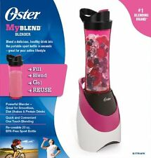 Oster Blender Bottle Travel Sport Personal Fruit Juice Smoothie Shake Drink Pink