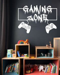 Gaming Zone Graffiti Wall Stickers PS4 & XBOX1 Controller Gamer Vinyl Decals GZ4