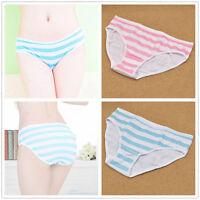 Panties Underwear Harajuku Lolita Girl Blue Pink Striped Intimate Cosplay Anime