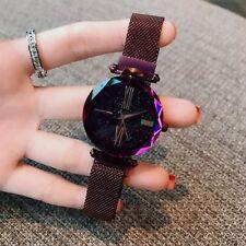 2018 New Luxury Rose Gold Women Starry Sky Waterproof Watch Wrist watch