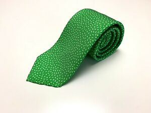 Drake's NWOT Green Speckled 100% Silk Mens Neck Tie Made In England