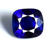 Natural Kashmir Blue Sapphire Loose Gemstone 4.70 Ct Certified Cushion Cut C1691