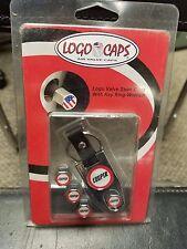 MINI COOPER Logo Caps Logo Valve stem Caps w/keychain NEW