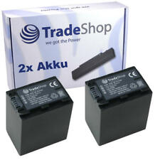 2x AKKU für SONY HDR-XR500 HDR-XR500VE HDR-XR520 HDR-XR520VE