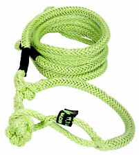 """1/2"""" x 10' Voodoo Offroad GREEN RECOVERY ROPE 11,700 lb with 2 SOFT SHACKLE ENDS"""