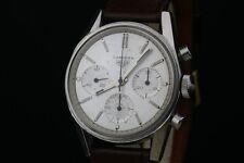 Untouched 2447S Heuer Carrera Chronograph Valjoux 72 Watch Serviced