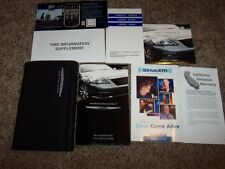 2013 Chrysler 200 Owner Operator Manual User Guide Touring Limited S LX V6 4Cyl