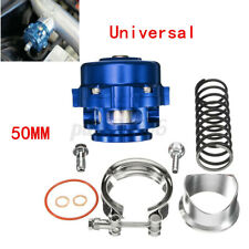 Tial 50mm V Band Blow Off Valve BOV Q Typer with Weld On Aluminum Flang Blue
