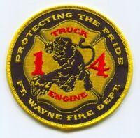 FORT WAYNE FIRE DEPARTMENT ENGINE COMPANY 11 PATCH YOSEMITE SAM