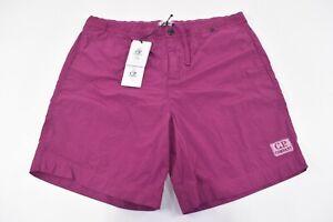 C.P. (CP) Company NWT Beachwear Boxer Swim Suit Size 52 L US In Magenta